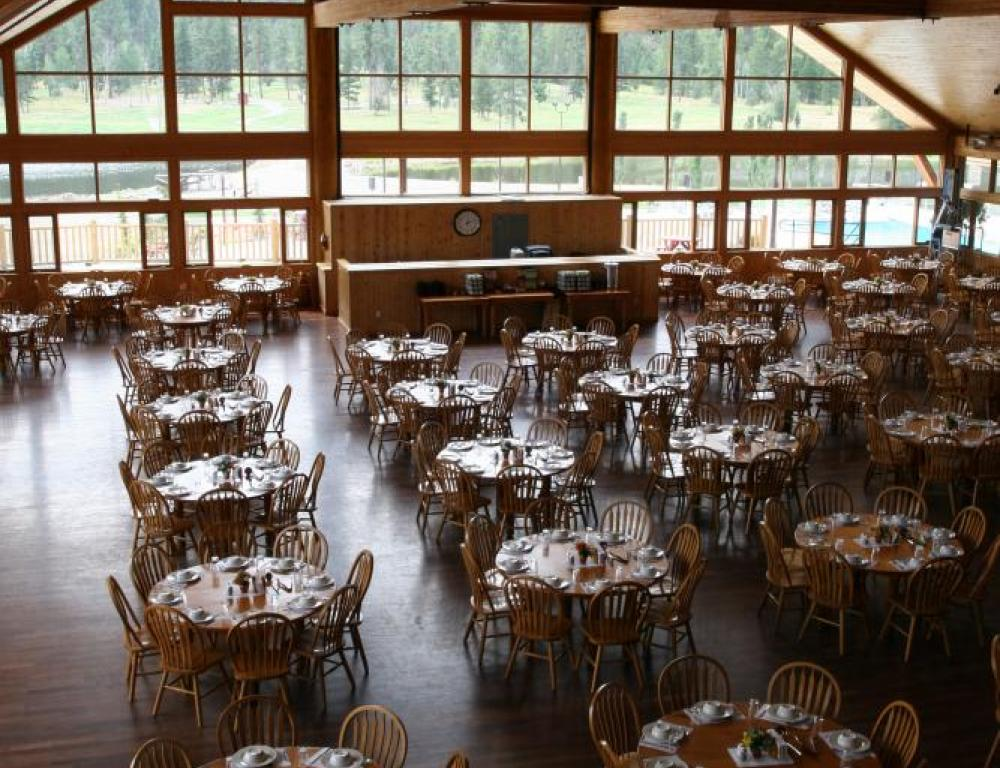 The Pinnacle Dining Hall where our gourmet meals are prepared.