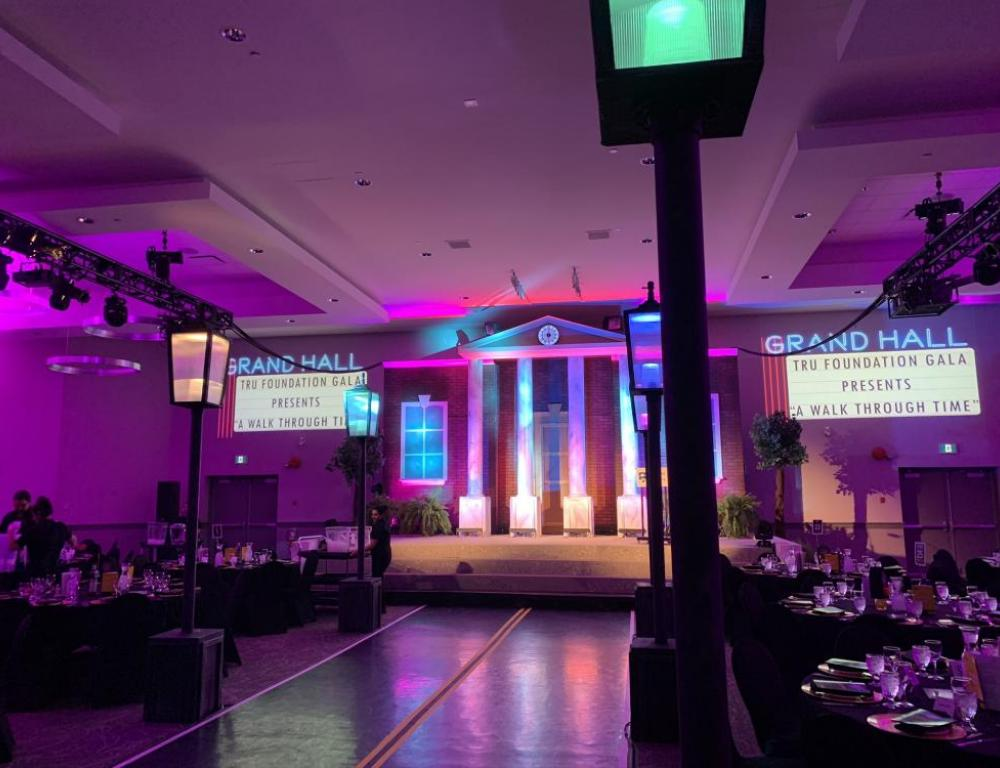 Grand Hall - TRU Foundation Gala