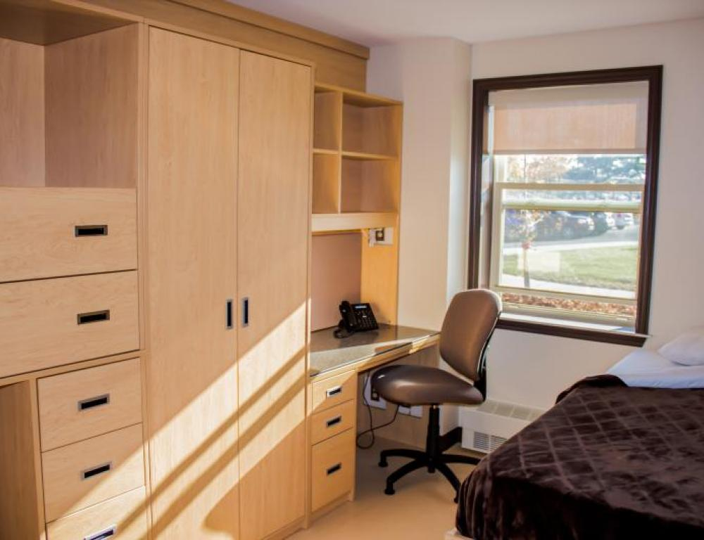 Macpherson College is composed of two-bedroom suites, available May-August.