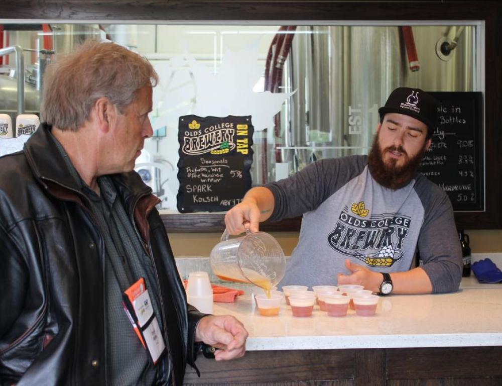 Olds College Brewery Tours