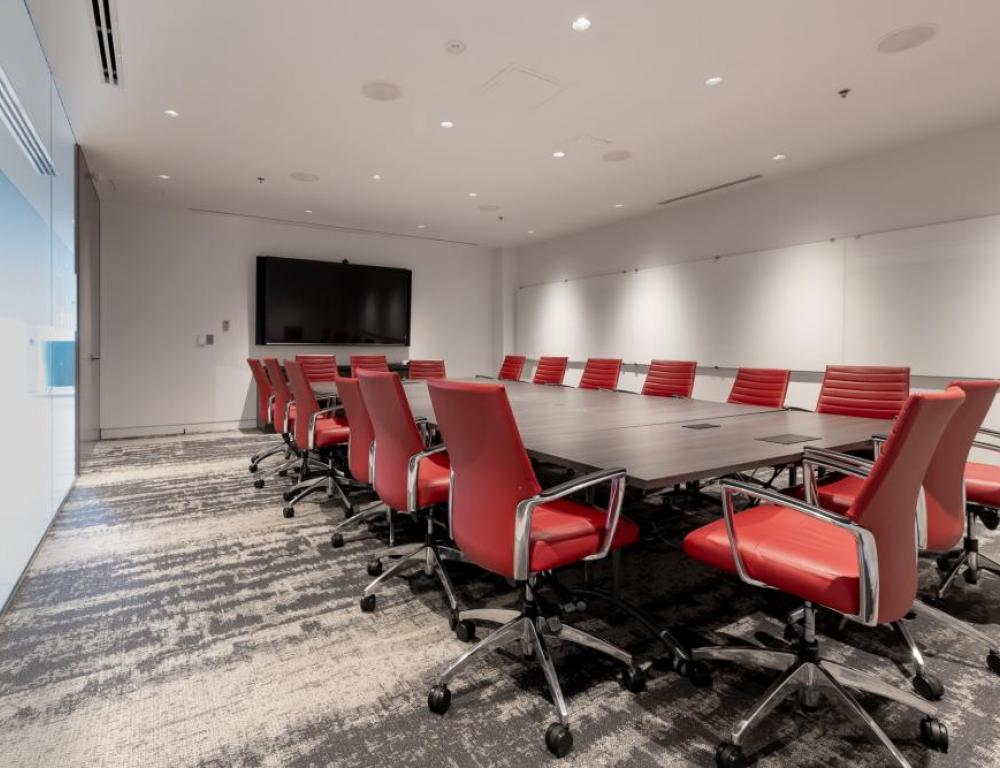 Meeting Room, Emera Innovation Exchange Conference Centre, Signal Hill Campus