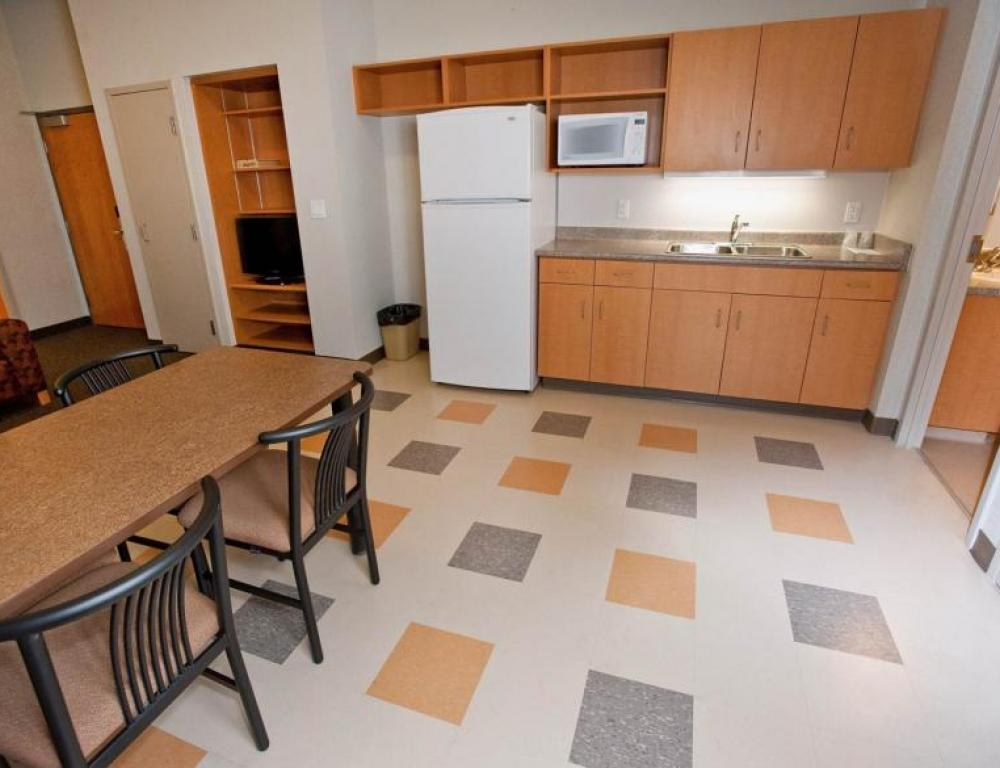 Kitchenette in Four Bedroom Suite