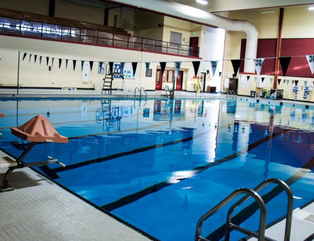 All guests enjoy free access to the StFX pool
