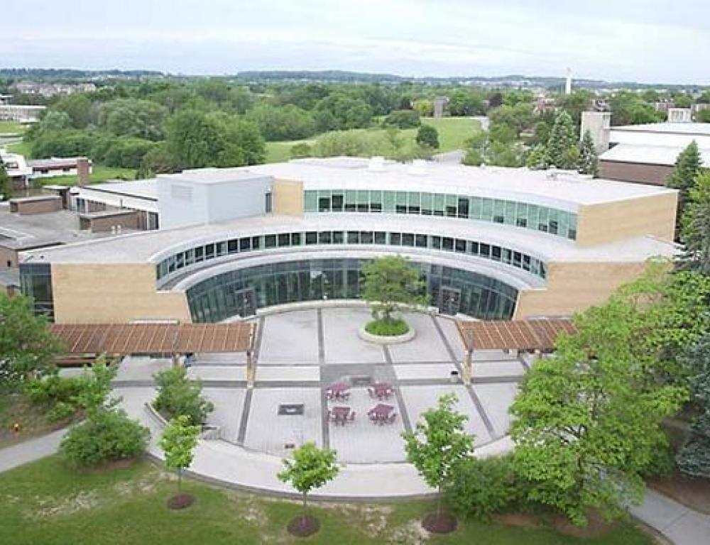 Student Life Centre - View from above