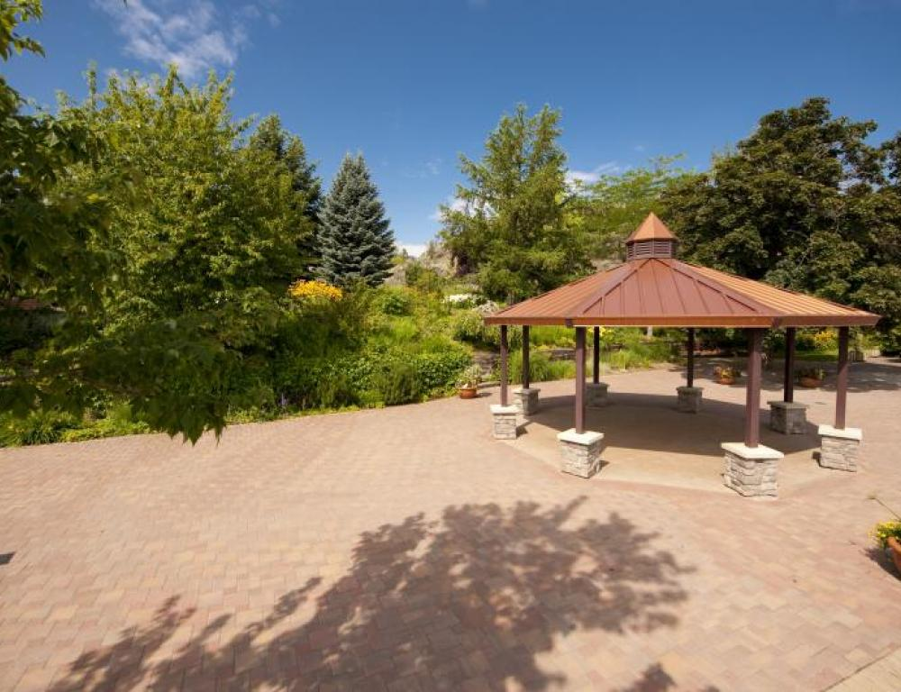 Horticulture Gardens - Private outdoor space for receptions & special events.