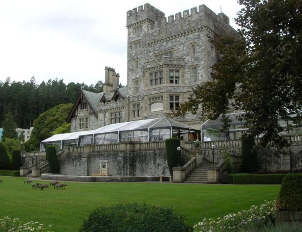 Hatley Castle - Exterior Tenting (if required)