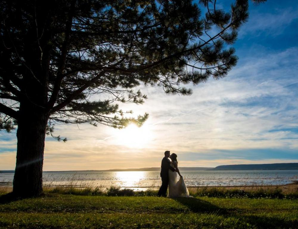 ABCC provides a stunning backdrop for your wedding photography