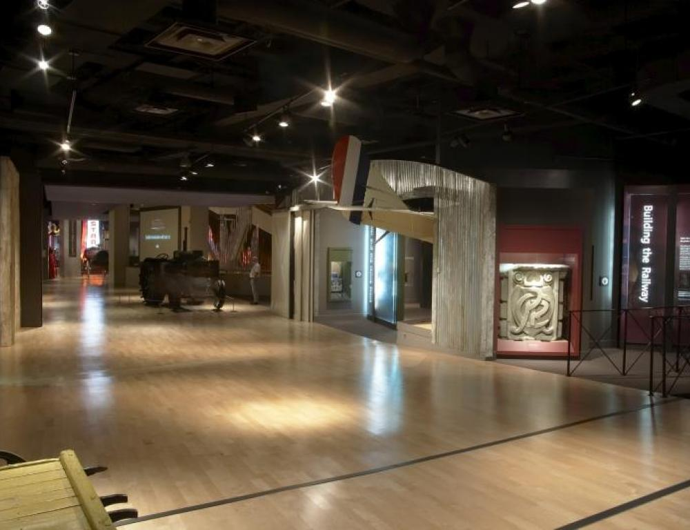 Third floor gallery space perfect for receptions up to 200 guests