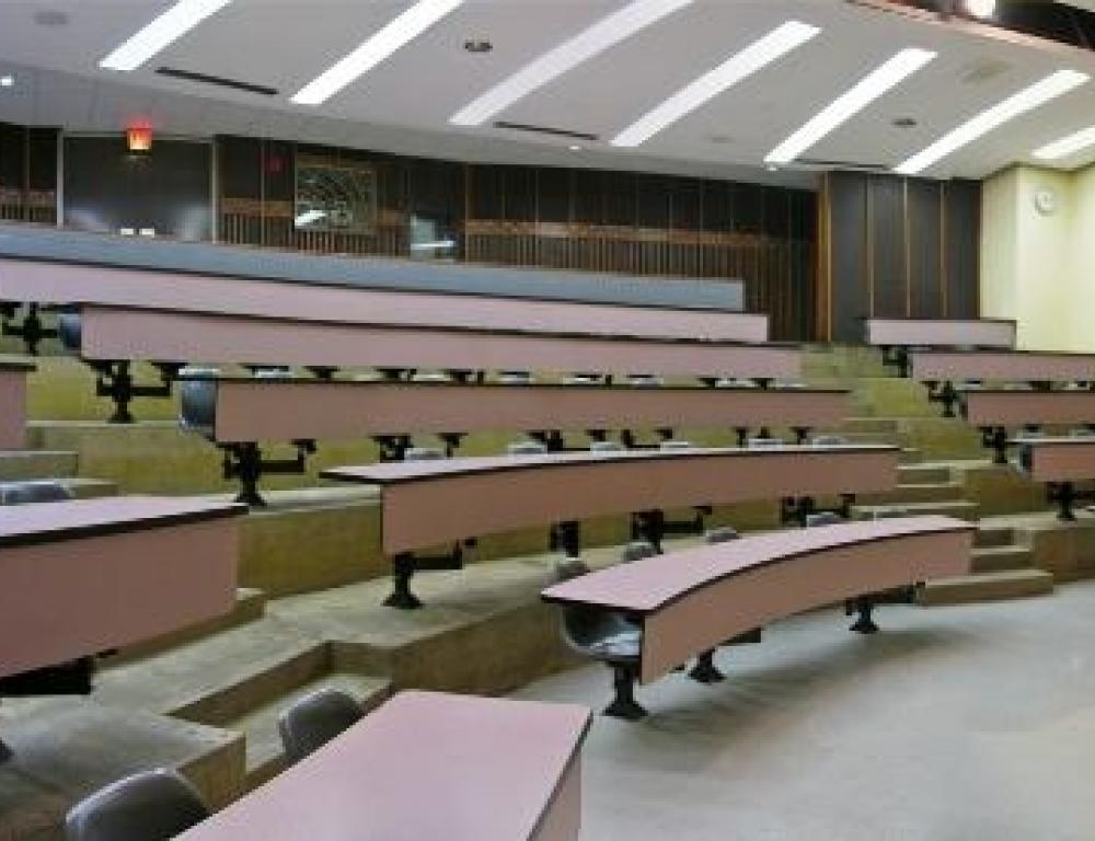 Sample Art Lecture Hall classroom