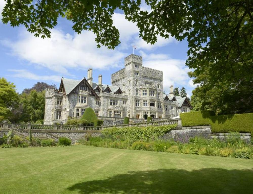 Hatley Castle (back)