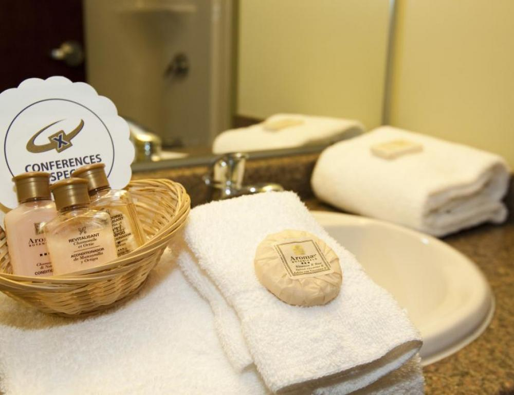 Bathroom Amenities - StFX University Hotel
