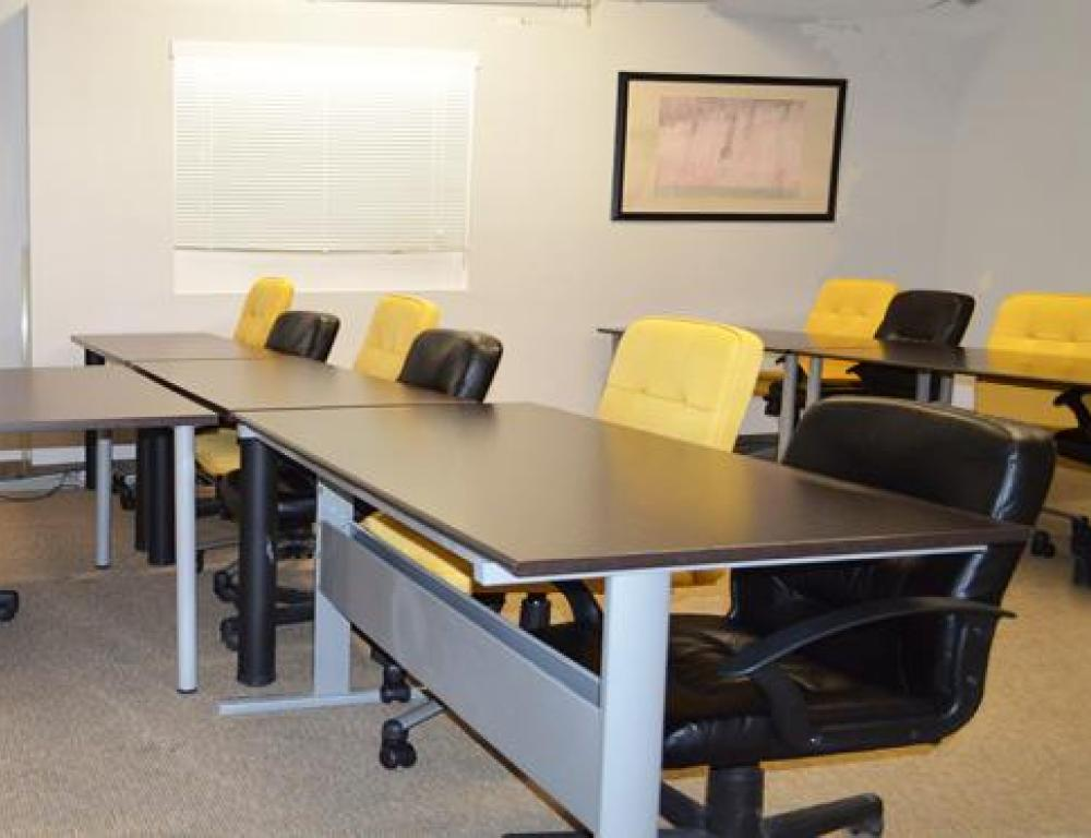 Room 5 - Classroom style seats up to 12